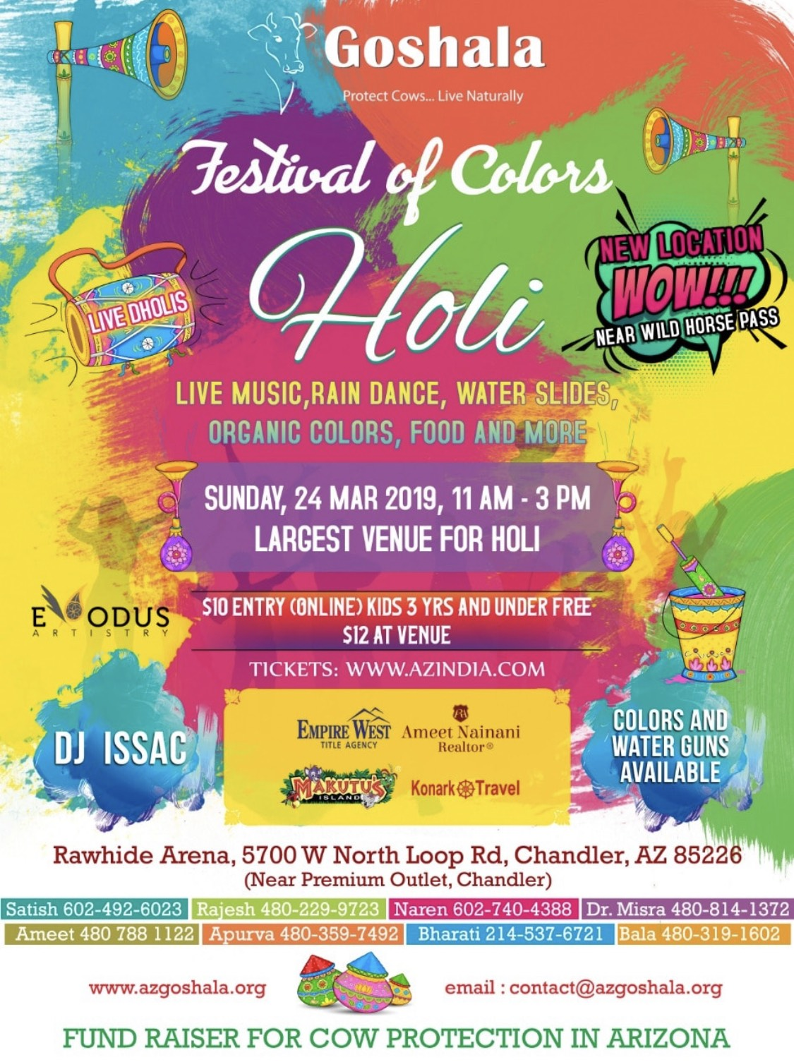 Fort Knoxs Annual Holi Tickets - Gonzagasports